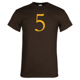 Brown T Shirt-5