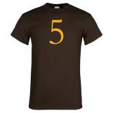 Brown T Shirt-5