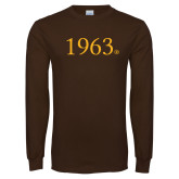Brown Long Sleeve T Shirt-1963