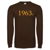Brown Long Sleeve T Shirt-1963