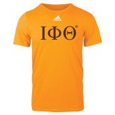 Adidas Gold Logo T Shirt-Greek Letters