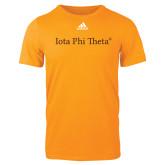 Adidas Gold Logo T Shirt-Iota Phi Theta