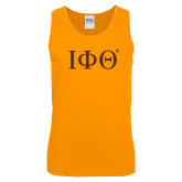 Gold Tank Top-Greek Letters