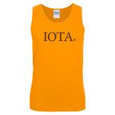 Gold Tank Top-IOTA - Small Caps