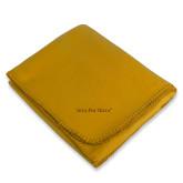 Gold Arctic Fleece Blanket-Iota Phi Theta - Small Caps