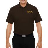 Under Armour Brown Performance Polo-IOTA - Small Caps