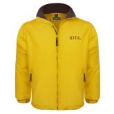 Gold Survivor Jacket-IOTA - Small Caps