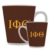 Full Color Latte Mug 12oz-Greek Letters