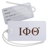 Luggage Tag-Greek Letters