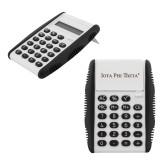 White Flip Cover Calculator-Iota Phi Theta - Small Caps