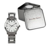 Mens Stainless Steel Fashion Watch-Iota Phi Theta - Small Caps