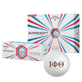 Callaway Supersoft Golf Balls 12/pkg-Greek Letters