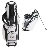 Callaway Hyper Lite 4 White Stand Bag-Greek Letters