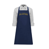 Full Length Navy Apron-UC Irvine Anteaters Arched