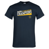 Navy T Shirt-2018 Womens Water Polo Champions