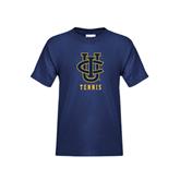 Youth Navy T Shirt-Tennis