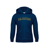 Youth Navy Fleece Hoodie-UC Irvine Anteaters Arched