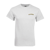White T Shirt-UC Irvine Anteaters Arched