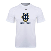 Under Armour White Tech Tee-Basketball