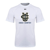 Under Armour White Tech Tee-Cross Country