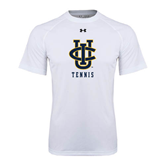 Under Armour White Tech Tee-Tennis