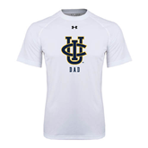 Under Armour White Tech Tee-Dad