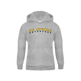 Youth Grey Fleece Hood-UC Irvine Anteaters Arched