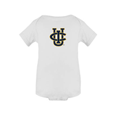 White Infant Onesie-Official Logo