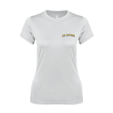 Ladies Syntrel Performance White Tee-UC Irvine Anteaters Arched