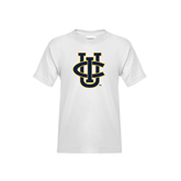 Youth White T Shirt-Official Logo