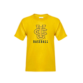 Youth Gold T Shirt-Tennis
