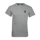 Grey T Shirt-Official Logo