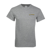 Grey T Shirt-UC Irvine Anteaters Arched