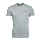 Next Level SoftStyle Heather Grey T Shirt-UC Irvine Anteaters Arched