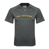 Under Armour Carbon Heather Tech Tee-UC Irvine Anteaters Arched