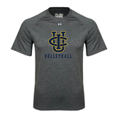 Under Armour Carbon Heather Tech Tee-Volleyball