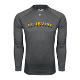 Under Armour Carbon Heather Long Sleeve Tech Tee-UC Irvine Anteaters Arched