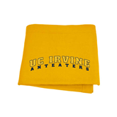 Gold Sweatshirt Blanket-UC Irvine Anteaters Arched