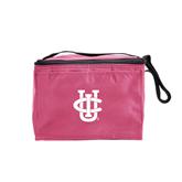 Six Pack Pink Cooler-Official Logo
