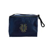 Six Pack Navy Cooler-Official Logo