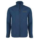 Navy Softshell Jacket-UC Irvine Anteaters Arched