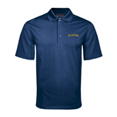 Navy Mini Stripe Polo-UC Irvine Anteaters Arched