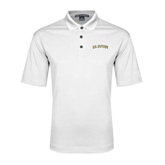 White Performance Fine Jacquard Polo-UC Irvine Anteaters Arched