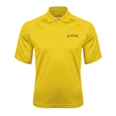 Gold Textured Saddle Shoulder Polo-UC Irvine Anteaters Arched