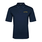Navy Performance Fine Jacquard Polo-UC Irvine Anteaters Arched