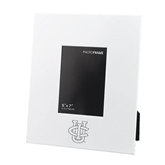 White Metal 5 x 7 Photo Frame-Official Logo Engraved