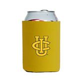Neoprene Gold Can Holder-Official Logo