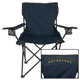 Deluxe Navy Captains Chair-UC Irvine Anteaters Arched