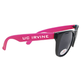 Black/Hot Pink Sunglasses-UC Irvine