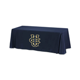 Navy 6 foot Table Throw-Official Logo